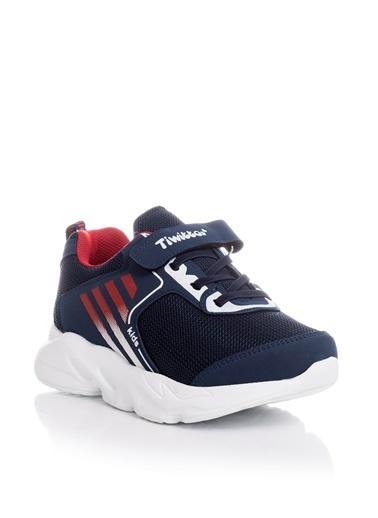 Tonny Black Lacivert Kırmızı Çocuk Spor Ayakkabı Tbz05 Lacivert